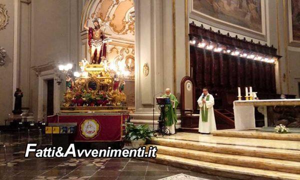Ragusa. VI giorno della novena in onore a San Giovanni Battista presieduta da don Paolo La Terra