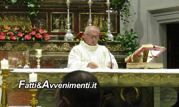 Ragusa. Procede la novena di San Giovanni Battista, tanti i fedeli presenti