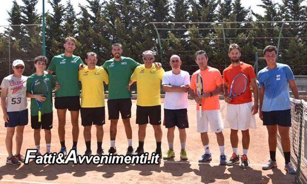 """Sciacca. il Tennis Club vince l'andata play off in D1 maschile e ipoteca la promozione in """"C"""" Nazionale"""