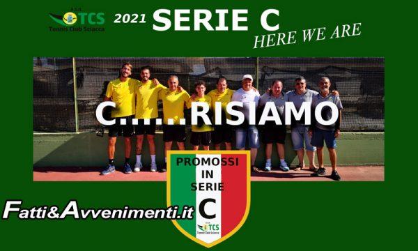 """Sciacca. IlTennis Club promosso in Serie C : """"Cresceremo ancora, obiettivo Serie B"""""""