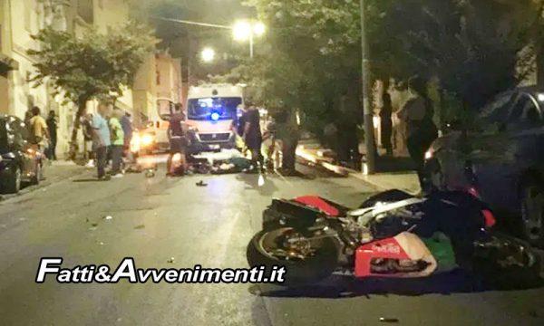 Sciacca. Morta la  donna 80enne travolta da una  moto in via Valverde