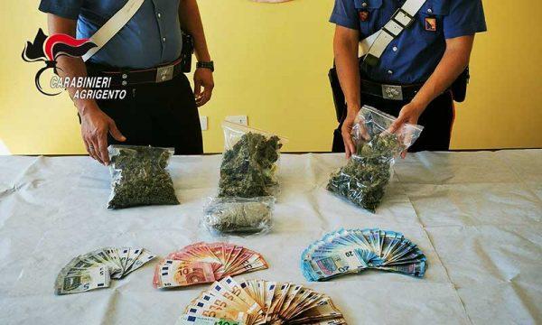 Sciacca. Arrestato 22enne saccense: sorpreso in casa con  360 gr di marijuana e 4.500 euro in banconote