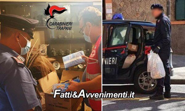 Castelvetrano. Anziana invalida sola in casa non mangiava da 3 giorni: i carabinieri gli fanno la spesa