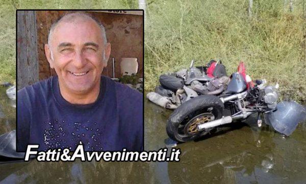 Catania. Violentissimo scontro tra una moto e un fuoristrada: perde la vita un 59enne