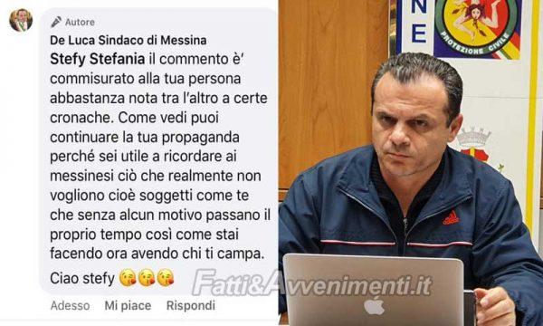 Messina. Facebook blocca l'account  di De Luca per commenti sessisti a tempo indeterminato