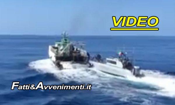 """Peschereccio tunisino sperona motovedetta GdF: """"Comandante arrestato per violenza a nave da guerra"""""""