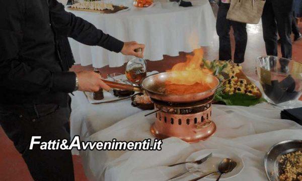 """Palermo. Sposa avvolta dalle fiamme del """"flambè"""" durante il ricevimento: ricoverata al Centro Ustioni del Civico"""