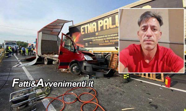 Paternò (CT). Scontro tra 2 camion: 35enne muore dopo essere estratto dalle lamiere. Inutile l'arrivo dell'elicottero