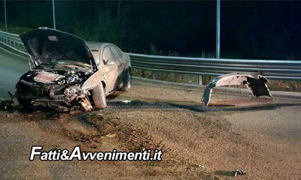 Incidente SS115 nei pressi della rotonda di Ribera: un 60enne di Sciacca è rimasto gravemente ferito