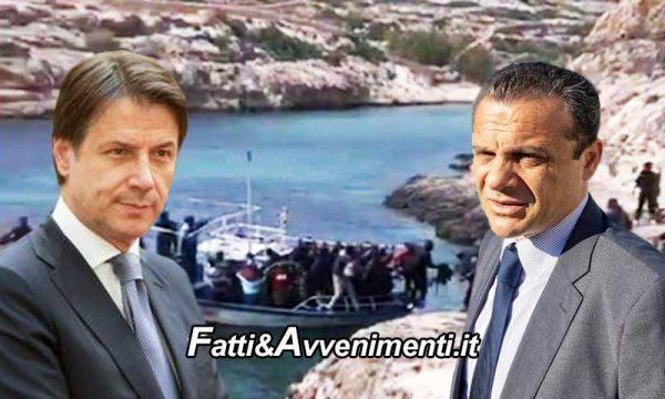 """Migranti. De Luca: """"Conte la smetta con la farsa, venga a Lampedusa e con l'esercito blocchi sbarchi"""""""