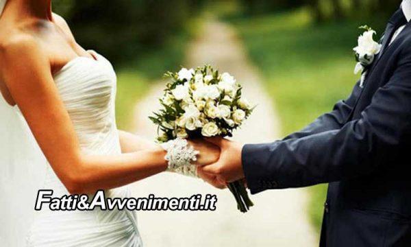 Sicilia. La Regione approva il bonus matrimonio: un aiuto fino a tremila euro per chi si sposa