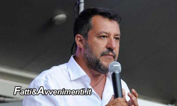 """Elezioni Regionali, Salvini: """"Il mio obiettivo è 7 a 0 e in Campania i risultati saranno sorprendenti"""""""