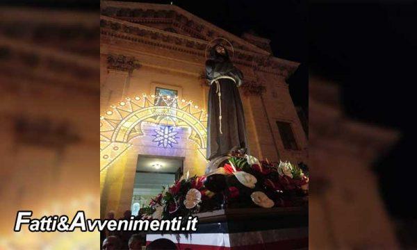 Ragusa. Iniziati i festeggiamenti di San Francesco che termineranno il 4 ottobre: ecco gli appuntamenti