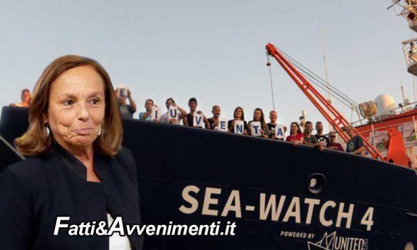 Lamorgese autorizza la Sea Watch 4 a sbarcare i 353 migranti a bordo nel porto di Palermo
