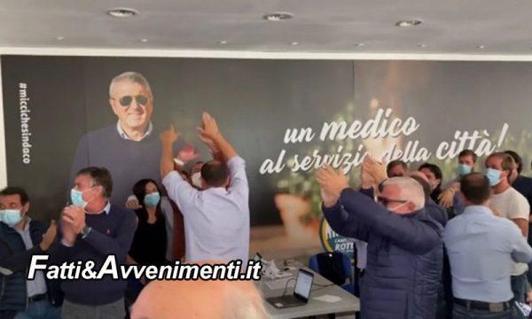 Agrigento. Ballottaggio Amministrative: Franco Miccichè travolge Lillo Firetto ed è il nuovo sindaco