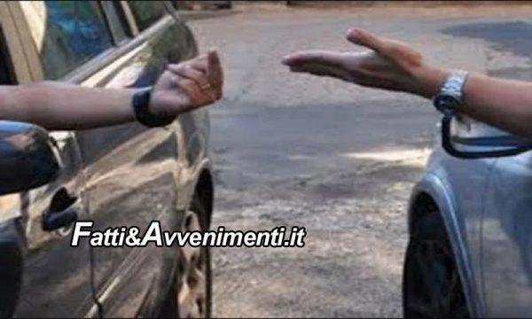 Agrigento. Lite per un parcheggio, minaccia e rompe l'osso del naso a 42enne, poi gli danneggia l'auto: denunciato
