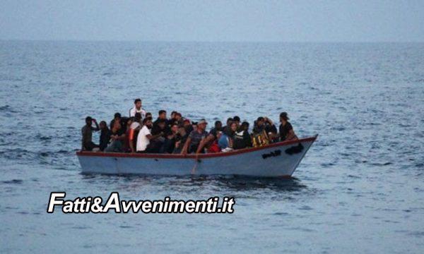 Sciacca. Capitaneria di Porto intercetta barcone con 90 tunisini: in corso procedure di sbarco