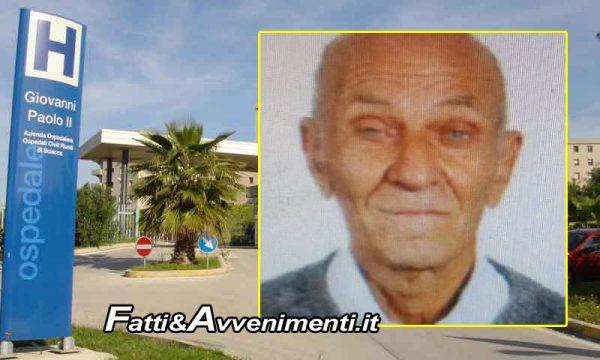 Sciacca. Scomparso 80enne: avviate ricerche in zona Ospedale