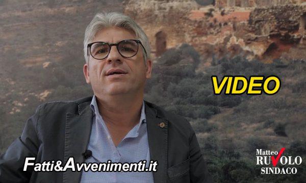"""Ribera. Il neo sindaco Matteo Ruvolo ringrazia la città con un video messaggio """"per rispetto della salute di tutti"""""""