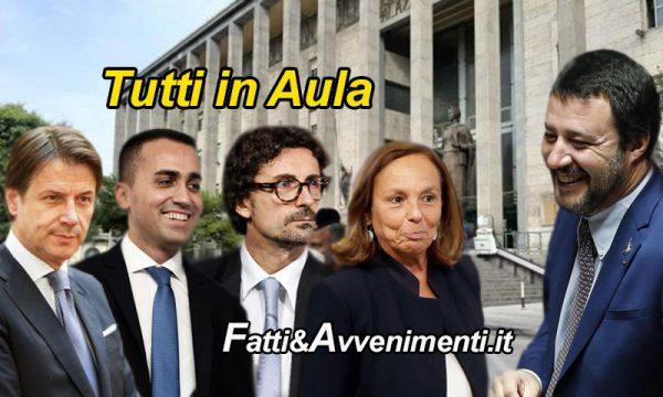 Caso Gregoretti, Gup rinvia udienza per sentire Conte Di Maio Toninelli e Lamorgese: la Procura chiede l'archiviazione