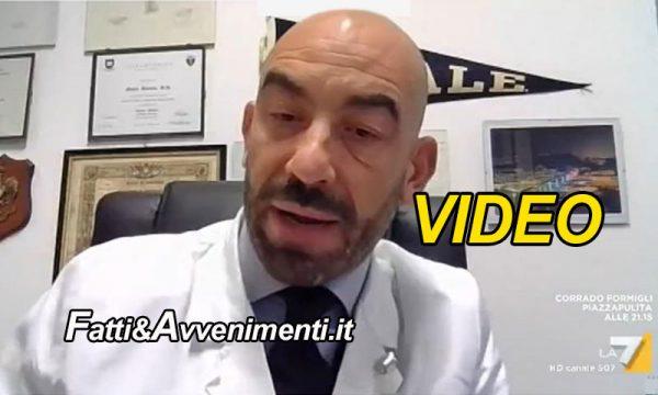 """Bassetti: """"Errori nel conteggio, chi arrivava in ospedale positivo anche con infarto qualificato morto per Covid"""""""