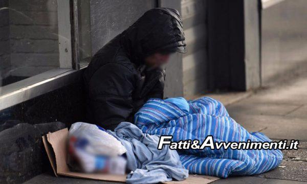 Sicilia. Regione pubblica bando per finanziare progetti a favore dei senzatetto