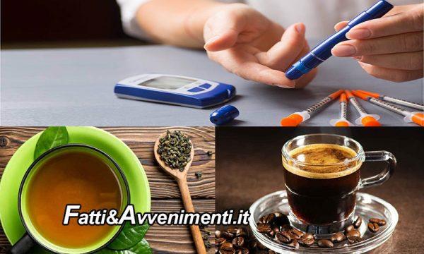 Salute & Benessere. Diabete: tè verde e caffè riducono il rischio di morte