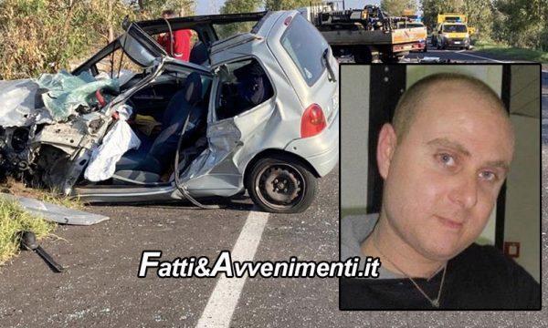 Scontro auto-camion sulla SS115 tra Menfi e Castelvetrano: perde la vita un 37enne oltre ad un ferito grave