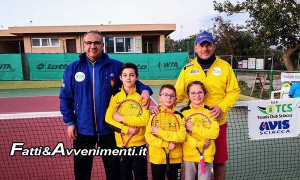 Il Tennis Club Sciacca al primo posto in Sicilia nel Trofeo Nazionale Scuole Tennis FIT, Categoria Club School