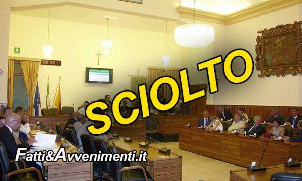 Sciacca. Musumeci firma lo scioglimento del Consiglio comunale: 8 consiglieri ricorreranno al TAR