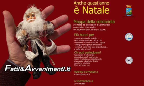 """Sciacca. """"Anche quest'anno è Natale"""": iniziativa di solidarietà per lasciare spesa e giocattoli """"sospesi"""" per i più bisognosi"""
