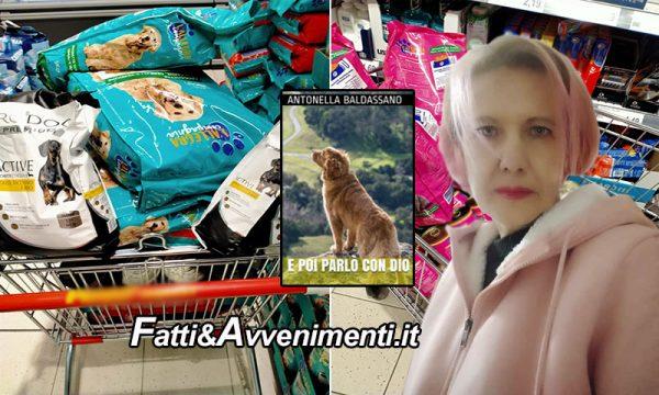 Sciacca. La scrittrice Baldassano regala cibo per cani e gatti randagi con i proventi della vendita del suo libro