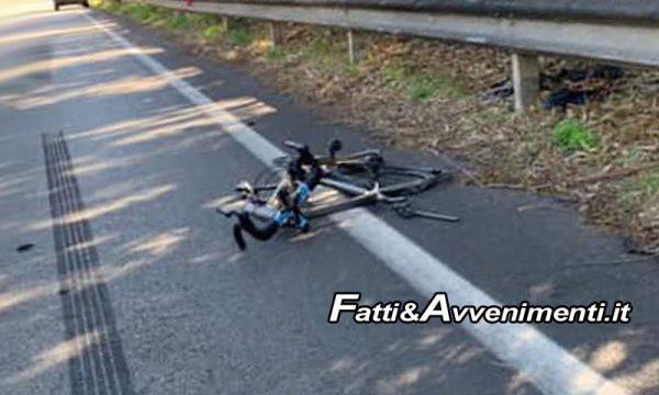 SS640. Furgone proveniente da Sciacca travolge ciclista: morto 71enne di Grotte