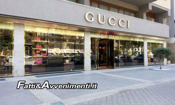 Palermo. 23enne da Gucci per shopping natalizio, ma appena fuori lo derubano di 25mila euro