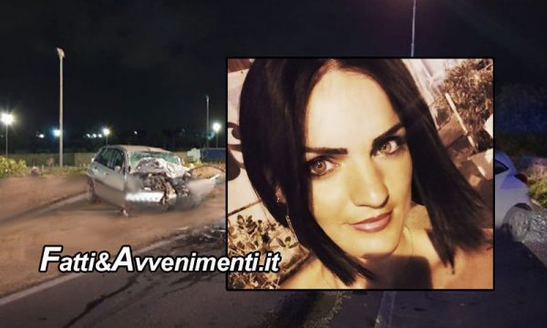 Modica (RG). Terribile scontro tra due auto: perde la vita una giovane mamma di 29 anni, ferito il figlio