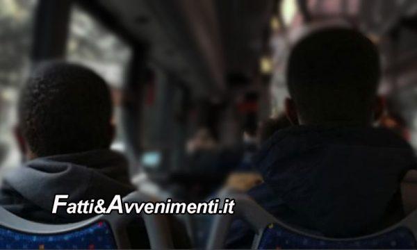 Porto Empedocle, 82 immigrati aggrediscono autista bus, feriscono carabiniere e 10 fuggono
