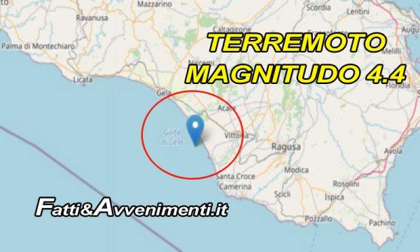 Forte scossa di terremoto tra Ragusa e Catania: avvertita anche nell'Agrigentino