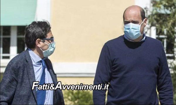 """Zingaretti indagato per """"Abuso d'ufficio"""" per nomine nelle Asl insieme all'assessore D'Amato"""