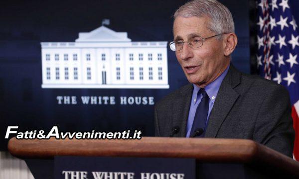 Covid. Il virologo della Casa Bianca Anthony Fauci a Sciacca(Ag) per ricevere due prestigiosi premi