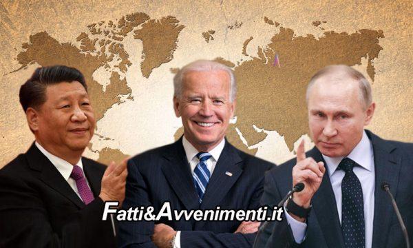 """Biden inaugura la politica estera attaccando per """"mancanza di libertà"""" Cina e Russia che rispondono """"picche"""""""