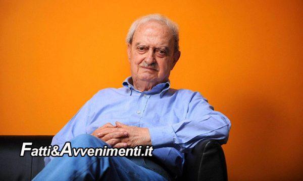 Si è spento a 96 anni Emanuele Macaluso, dirigente del Pci dal 1951 era stato Parlamentare per 7 legislature