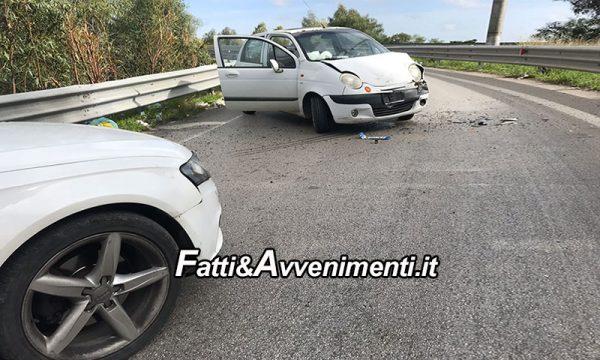 Agrigento. Tunisino in contromano su bretella ponte Morandi si schianta su un'Audi: sei i feriti