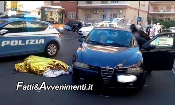 Catania. Auto travolge e uccide donna mentre attraversa la strada sulle strisce pedonali