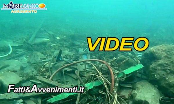 """Lampedusa. Fondale del porto pieno dei resti delle barche dei migranti, Mareamico: """"disastro ambientale"""""""