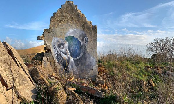 """Montevago, 14 gennaio tra i ruderi del vecchio centro inaugurazione di """"Percorsi Visivi"""" Museo Open Air"""