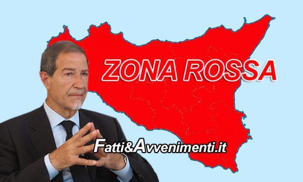 """Covid. Musumeci annuncia 2 settimane di zona rossa per tutta la Sicilia e """"Se Roma dice no, farò io l'ordinanza"""""""