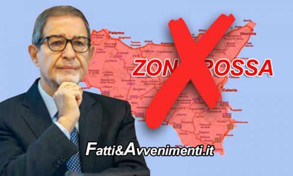 """Covid. Contagi in calo e Musumeci pensa revoca zona rossa, ma i siciliani """"in parte"""" se la sono revocata da soli"""