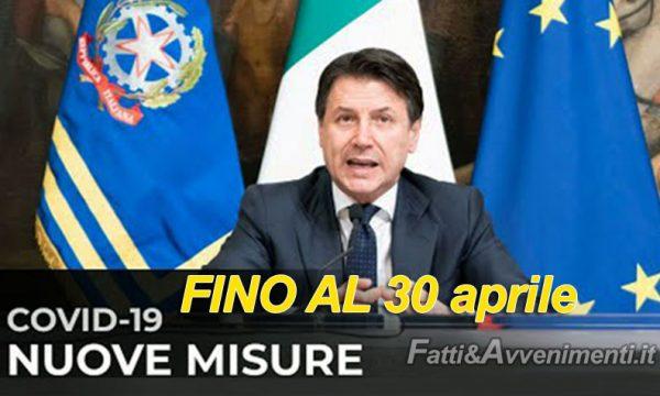 Covid. Conte pronto a prorogare fino al 30 aprile Stato di emergenza: ecco le nuove restrizioni che ci attendono