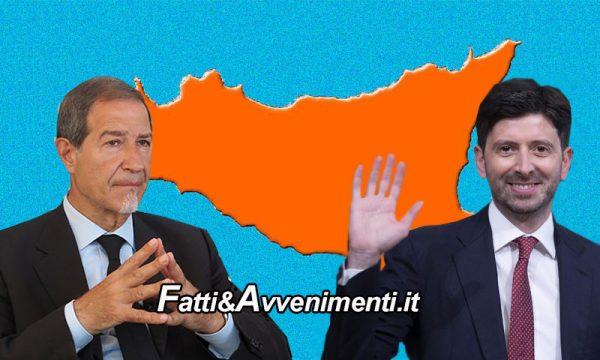 Covid. Speranza ha deciso: la Sicilia resta in zona arancione per almeno un'altra settimana
