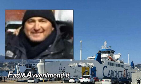 Messina. Tragedia sulla nave Elio della Caronte: muore marittimo colpito da un cavo durante l'ormeggio